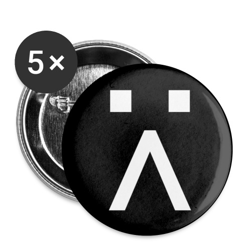 G-Button - Buttons small 1''/25 mm (5-pack)