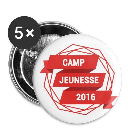 LOGO CIC2016 - Lot de 5 petits badges (25 mm)