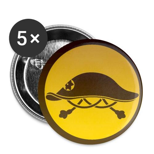 Jingasa - Lot de 5 petits badges (25 mm)