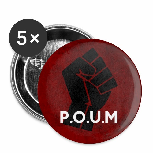 POUM - Badge petit 25 mm