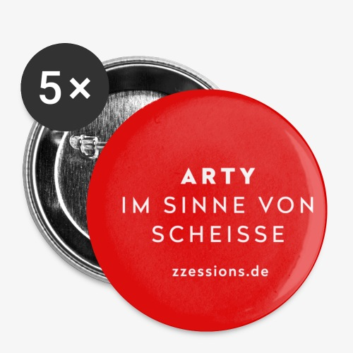 ARTY - Buttons klein 25 mm (5er Pack)