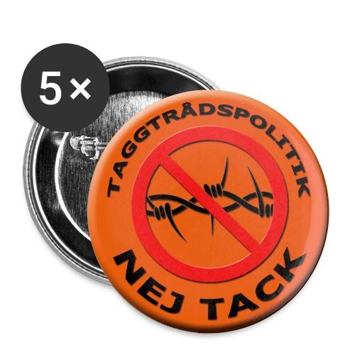Taggtrådspolitik Ny - Små knappar 25 mm (5-pack)
