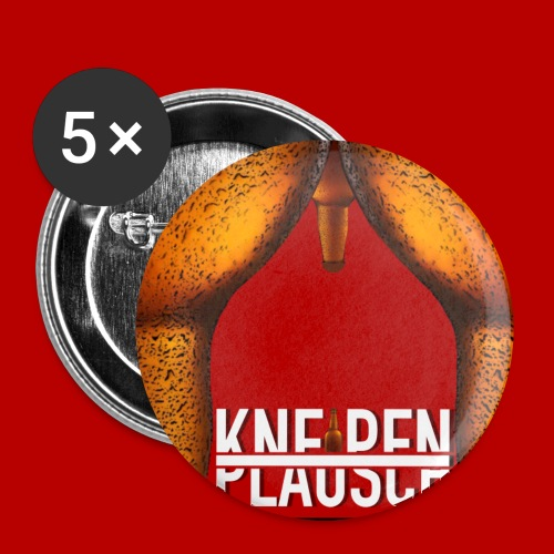 Kneipenplausch Cover Edition - Buttons klein 25 mm (5er Pack)