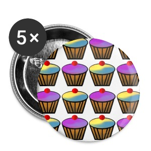 Cupcakes - Buttons small 25 mm
