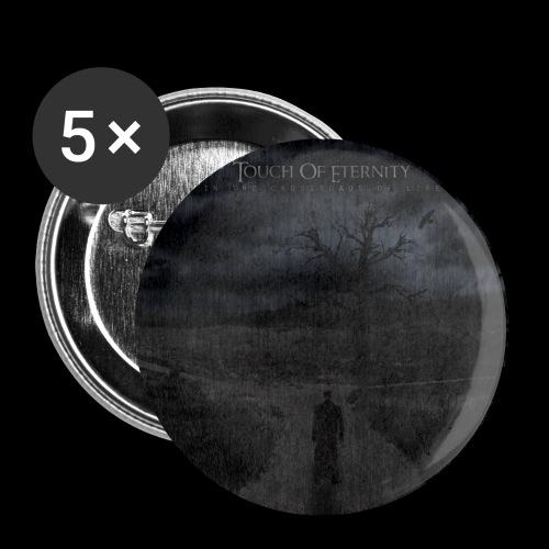 Touch of Eternity: ITCOL cover - Rintamerkit pienet 25 mm (5kpl pakkauksessa)
