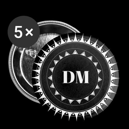 Badge Logo - Lot de 5 petits badges (25 mm)