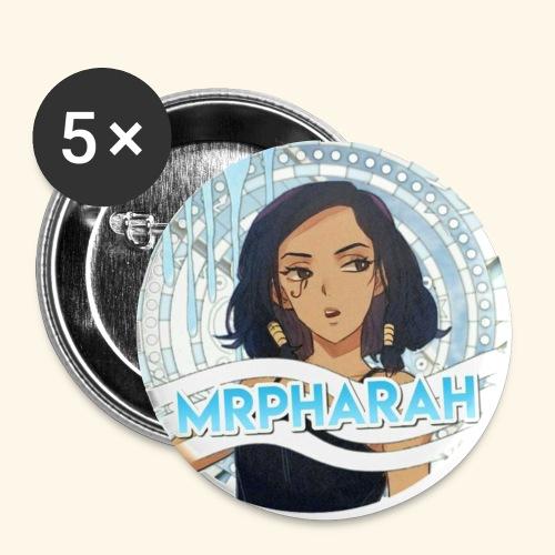 MrPharah Custom Badges! - Buttons small 1''/25 mm (5-pack)