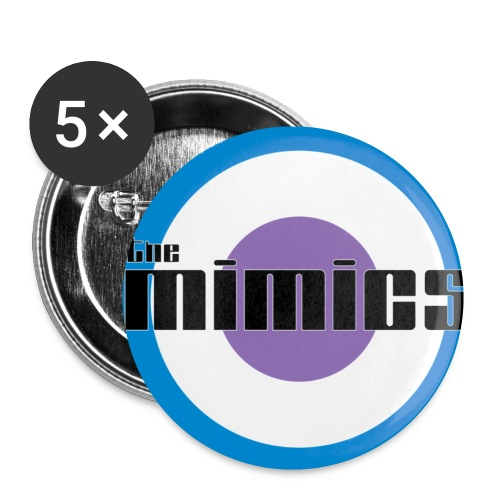 The Mimics - 2011 Logo - Buttons small 1''/25 mm (5-pack)