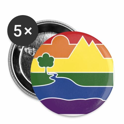 GOC Logo No Text - Buttons small 1''/25 mm (5-pack)