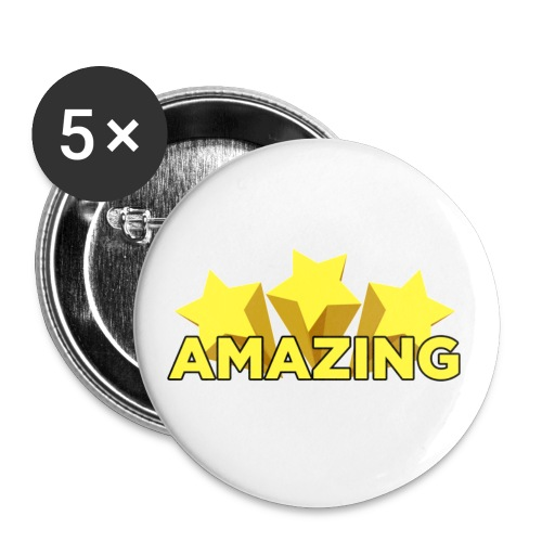 Amazing - Buttons small 1''/25 mm (5-pack)