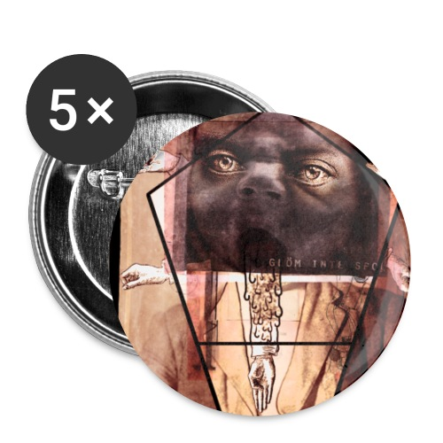 oxmuxiB2Bs1rthebeo1 - Små knappar 25 mm (5-pack)