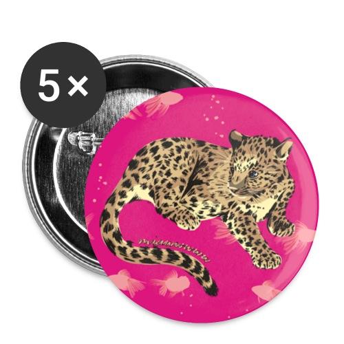 button little leo - Buttons klein 25 mm (5er Pack)