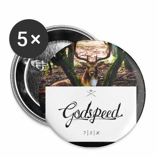 Godspeed FSH - Rintamerkit pienet 25 mm (5kpl pakkauksessa)