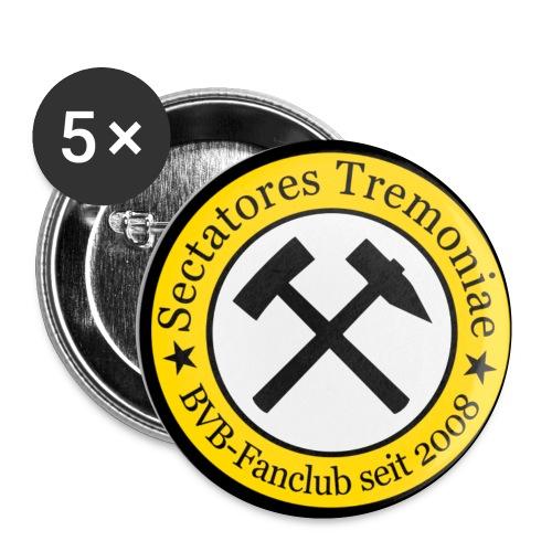 sectrem logo - Buttons klein 25 mm (5er Pack)