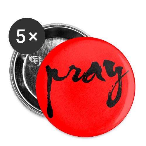 PRAY FOR JAPAN II - Buttons klein 25 mm (5er Pack)