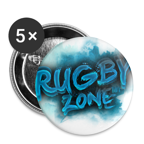 Rugby Zone™ Merchandise - Buttons small 25 mm