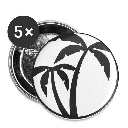 KOKOS&ZITRONE-LOGO-20182 - Buttons klein 25 mm (5er Pack)