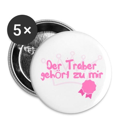 Trabersprüche II pinkEdition - Buttons klein 25 mm