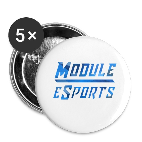 Module Text Logo - Buttons small 1''/25 mm (5-pack)