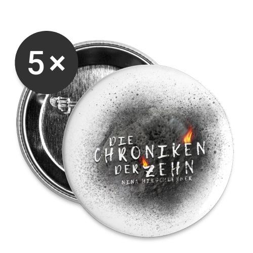 Die Chroniken der Zehn-Meteorit - Buttons klein 25 mm (5er Pack)