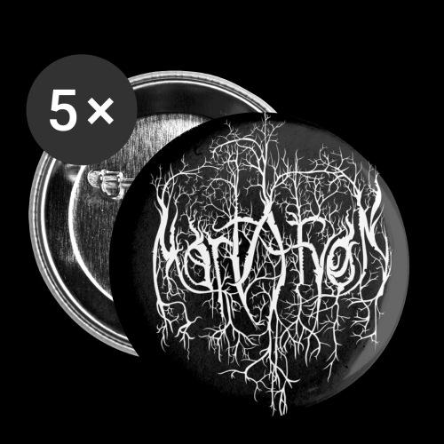 Mortaryon Logo Badge - Buttons small 25 mm