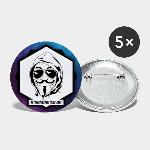 FREAKSHIRTS.de (Icon) - Buttons klein 25 mm (5er Pack)