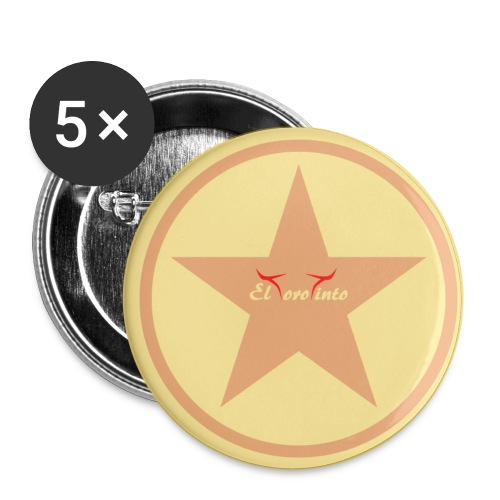 etoile 91 - Lot de 5 petits badges (25 mm)