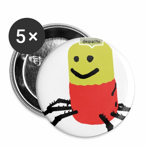 Despacito Spider - Buttons small 1''/25 mm (5-pack)