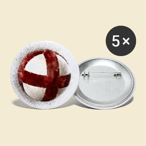 Radball   Cycleball - Buttons klein 25 mm (5er Pack)
