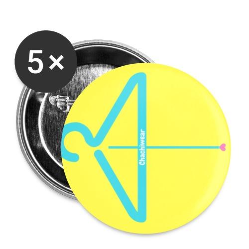 Chachiwear - Paquete de 5 chapas pequeñas (25 mm)