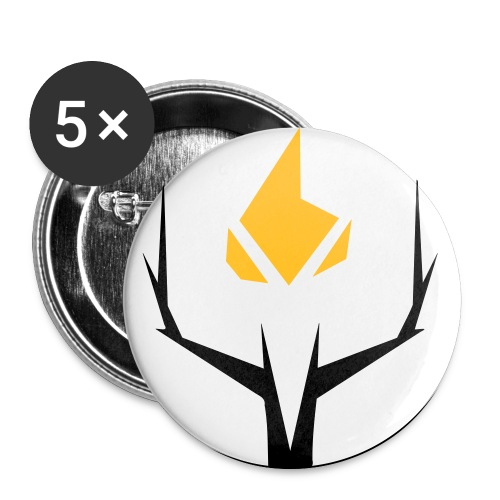 Anarcho Liberal Button - Buttons small 1''/25 mm (5-pack)