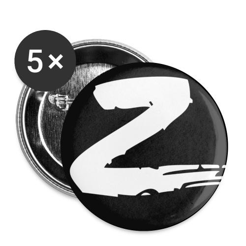 Z - Små knappar 25 mm (5-pack)