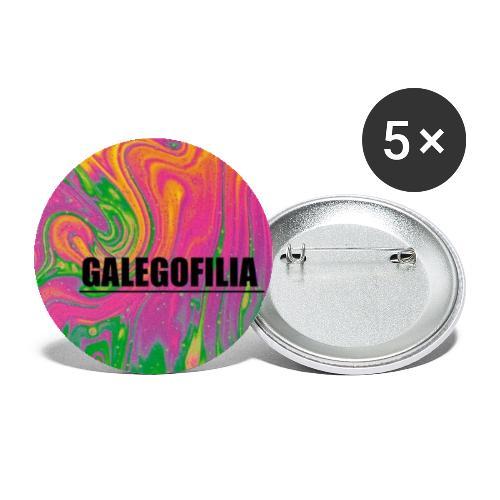 Galegofilia - Paquete de 5 chapas pequeñas (25 mm)