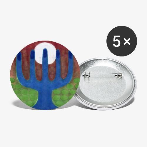 Oaza - Przypinka mała 25 mm (pakiet 5 szt.)