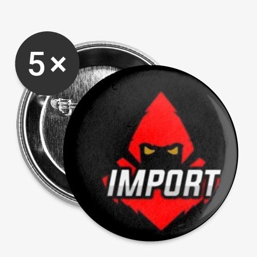 Import eSports - Rintamerkit pienet 25 mm (5kpl pakkauksessa)