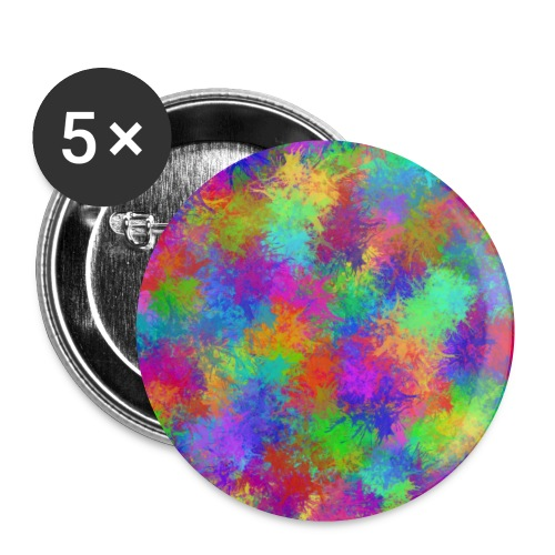 Colored - Buttons klein 25 mm (5er Pack)