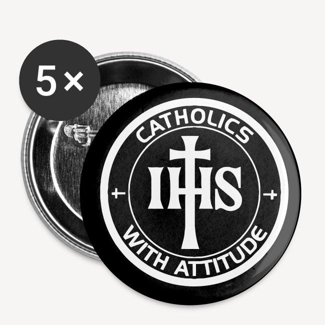 CATHOLICS WITH ATTITUDE BADGE