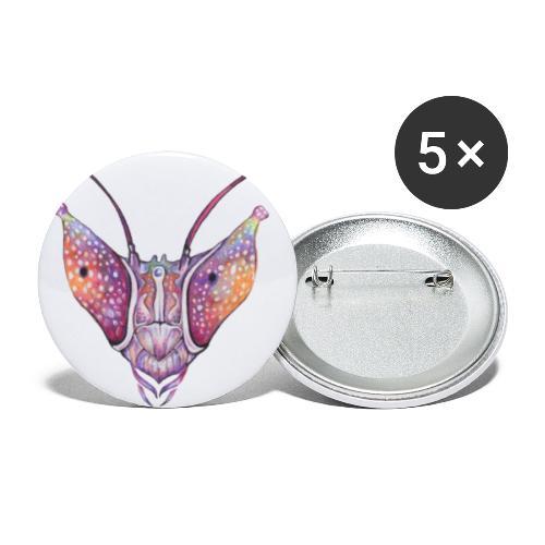 Orchid mantis - Buttons klein 25 mm (5er Pack)