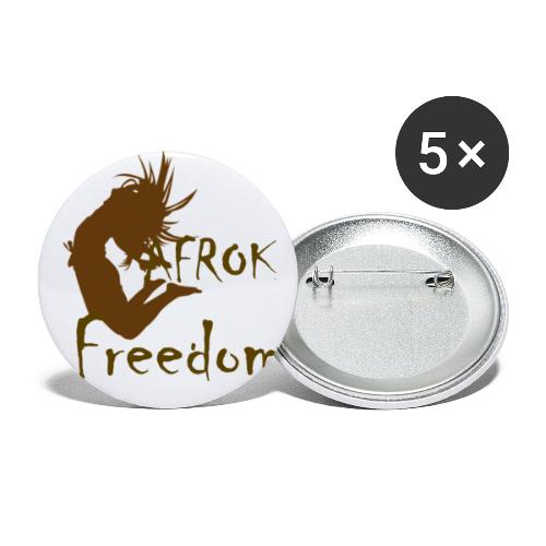 AFROK Freedom - Buttons small 1''/25 mm (5-pack)
