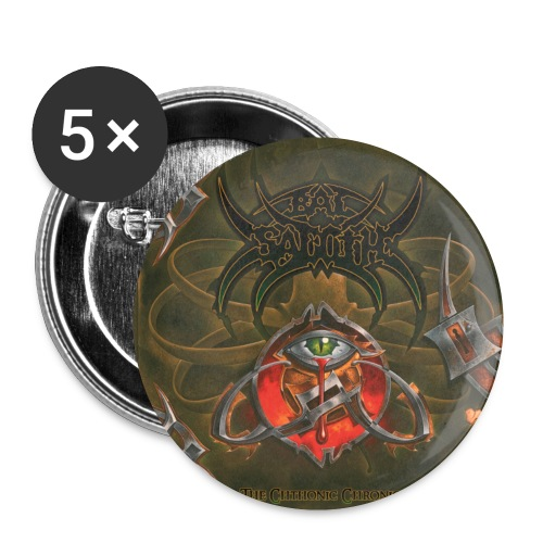 Bal-Sagoth The Chthonic Chronicles - Buttons small 1''/25 mm (5-pack)