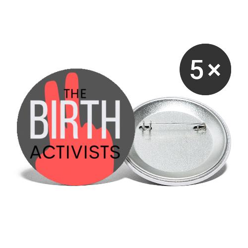 THE BIRTH ACTIVISTS - Buttons small 1''/25 mm (5-pack)