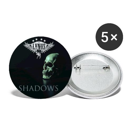 Lynus Shadows EP Art Promo Design - Buttons small 1''/25 mm (5-pack)