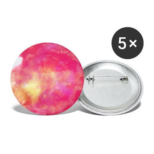 Planet Mercy - Små knappar 25 mm (5-pack)