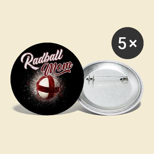 Radball | Mom Maske - Buttons klein 25 mm (5er Pack)