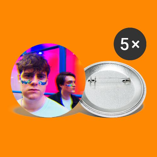 Hoofa Profile Image - Buttons small 1''/25 mm (5-pack)