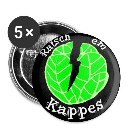 ratschemkappes - Buttons klein 25 mm (5er Pack)