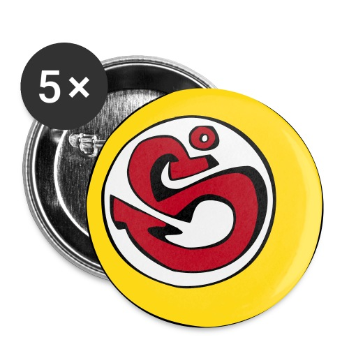 S°Icon - Buttons klein 25 mm (5er Pack)