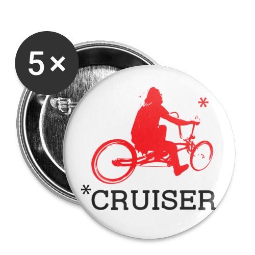 badge006 - Lot de 5 petits badges (25 mm)