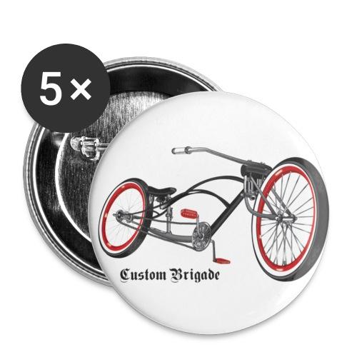 badge007 - Lot de 5 petits badges (25 mm)