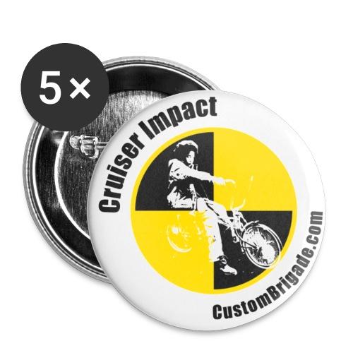 badge010 - Lot de 5 petits badges (25 mm)